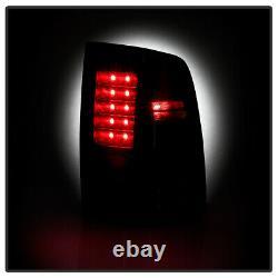 Onyx Black Led Tail Signal De Frein Lumière Pour 09-18 Dodge Ram Camion 1500 2500 3500