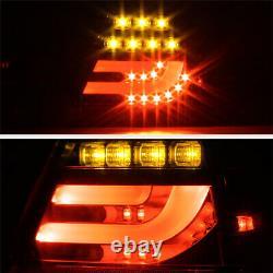 Pour 00-03 Bmw E46 3-series 2dr Tail Lumière Led Tube Signal De Frein À L'envers Lampe L+r
