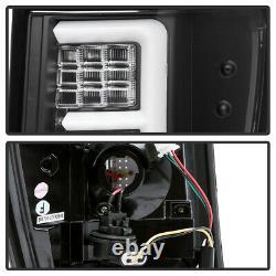 Pour 05-06 Jeep Grand Cherokee Black Tail Light Neon U-bar Tube Lampe De Frein Led