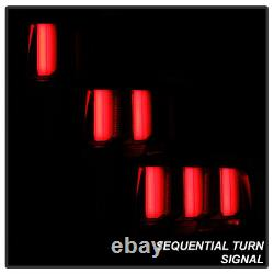 Pour 05-09 Ford Mustang Sequential Red Tail Light 3d Neon Tube Lampe De Frein Led