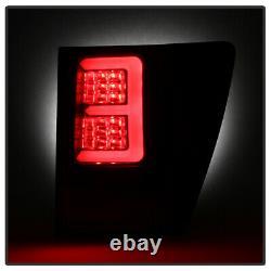 Pour 07-10 Jeep Grand Cherokee ^néon Tube^ Lampe De Signal De Frein Luminaire À Tail Led Black