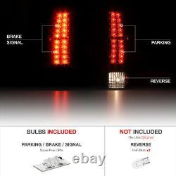 Pour 07-13 Chevy Avalanche Smoke Lens Led Smd Tail Lampe De Signal De Frein Léger Pair