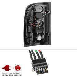 Pour 07-13 Chevy Silverado Black Smoked Lens Led Bar Signal De Freinage Lampe Tail Light