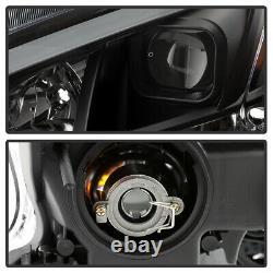 Pour 09-14 Nissan Maxima Black Led Tube Plasma Drl Projecteur Phare L+r Lampe