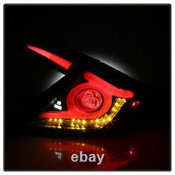 Pour 16-21 Honda CIVIC 4dr Sedan Led Arrière Sequential Signal Lumière Tail Lampe De Frein