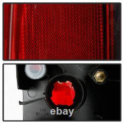 Pour 16-21 Toyota Tacoma Trd Pro Style Black Lunette Tail Lights Lampe De Frein Lh+rh