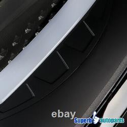 Pour 2007-2008 Dodge Ram 1500 2500 3500 Led Drl Bande Feux Arrière Frein Noir
