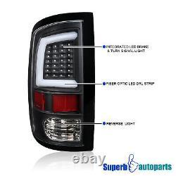 Pour 2009-2018 Dodge Ram 1500 10-18 2500 3500 Led Barre Drl Bande Tail Lumières Noir