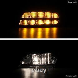 Pour 2013-2015 Honda Accord 4d Sedan Factory Led Model Neon Tube 4pc Tail Light