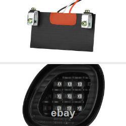 Pour 98-05 Lexus Gs300 Gs430 4pc Trunk+corner Black Led Tail Lampe De Frein Léger Set