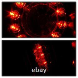 Pour Infiniti 08-13 G37 / 14-15 Q60 Led Tail Lampe De Signal De Frein Lumière Noir Effacer