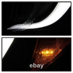 Projecteur De Tube Oled Noir Phares Led Drl Lampe Pour 12-16 Impreza/xv Crosstrek