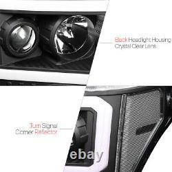 Signal Clair Noir De Projecteur De Projecteur De Led C-light Bar Drl Pour 09-14 Ford F150