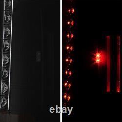 Sinister Black Pour 07-13 Chevy Silverado 1500 2500hd 3500hd Smoke Led Tail Light