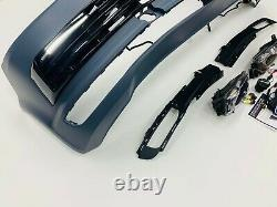 T6 Avant Pare-chocs Primed Gloss Black Drl Kit Led Fog Light Kit Transporter