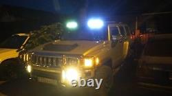 Visière Sur Le Toit Avec Lumière Drl Pour Hummer H3