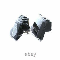 Vw T5 2003-2010 Black Drl Devil Eye R8 Head Light Lamp Paire Gauche Et Droite