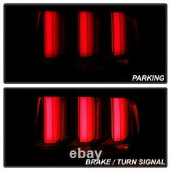^superflux Led Inverser^ Smoke Neon Tube Sequential Tail Light Pour 05-09 Mustang